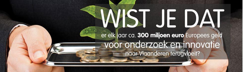 Europees geld naar Vlaanderen