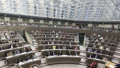 Foto halfrond Vlaams Parlement